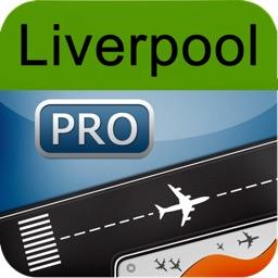 Liverpool Airport + Flight Tracker