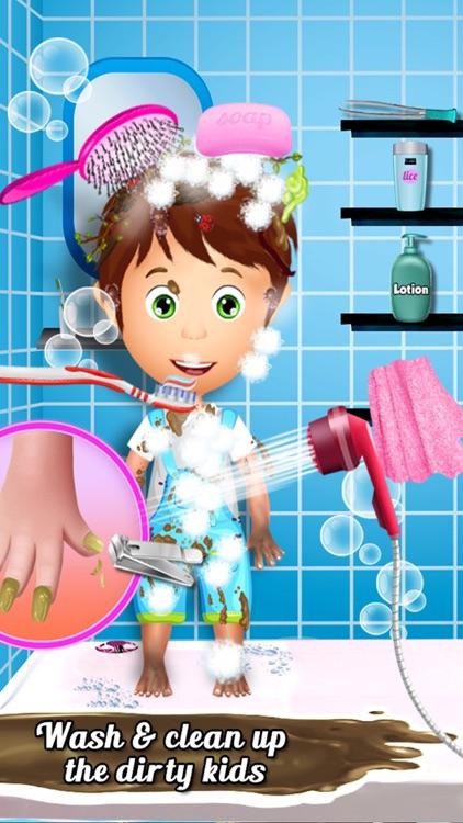 Clean Up Messy Kids