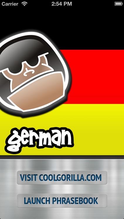 German Talking Phrasebook