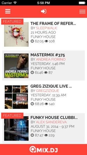 App store funky house party by for Funky house tunes