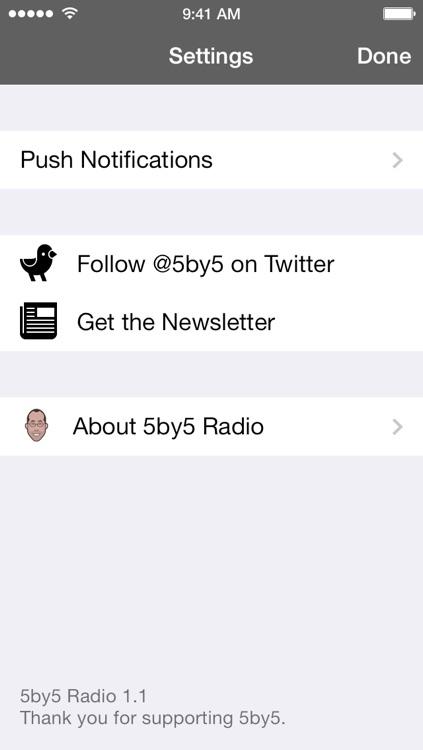 5by5 Radio