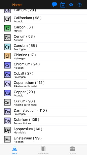 Periodic table explorer on the app store iphone screenshots urtaz Choice Image