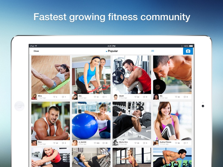 All-in Fitness HD: 1200 Exercises, 160 Workout Plans & Routines, Calorie Calculator screenshot-4