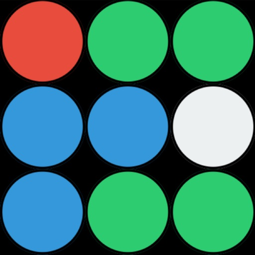 Color Crush : a puzzle game about matching 3 bubbles or more with the same color