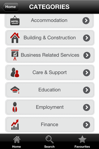 Screenshot of TheBBD: The UK Black Business Directory App