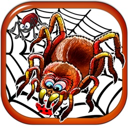 Scary Squishy Spider - Secret Picture Sliding Puzzle Paid