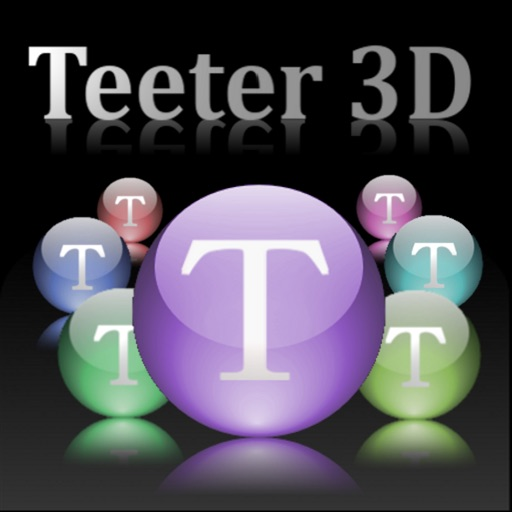Teeter 3D iOS App