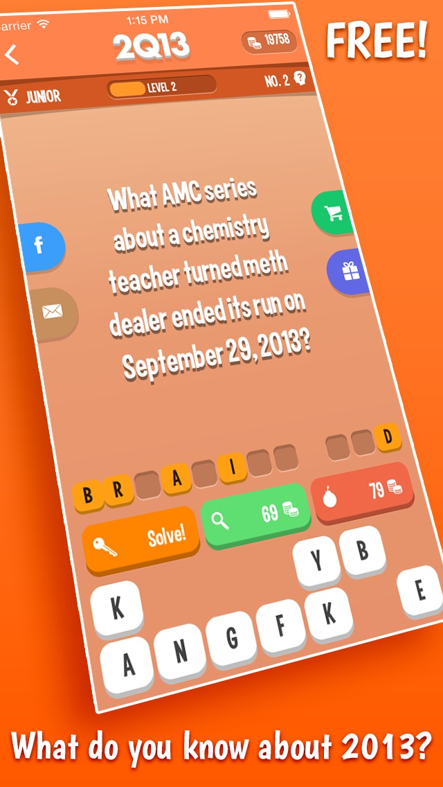 2013 QUIZ – A Free Trivia Game About The Past Year Cheat Codes