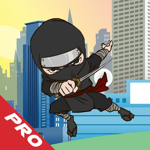 Mr Ninja Jump City PRO