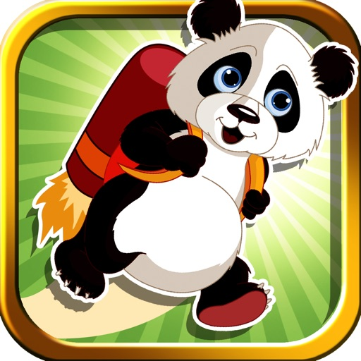 A Panda Jet Run Adventure Free Racing Game
