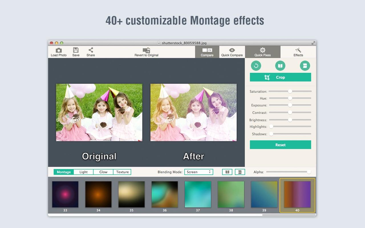 Screenshot do app PicLight