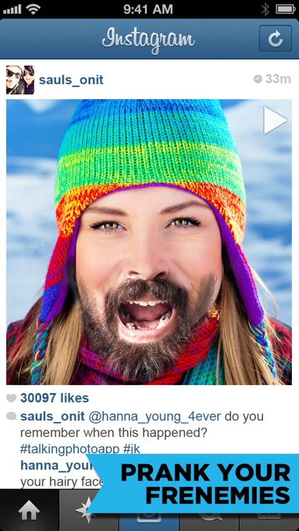 My Talking Photo - crazy funny mouth videos for Instagram screenshot-3