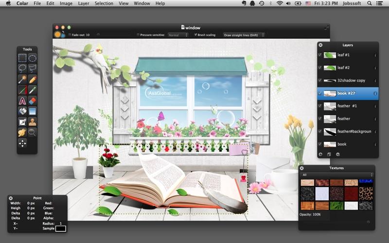 Colar - an Advanced Image Editor скриншот программы 2