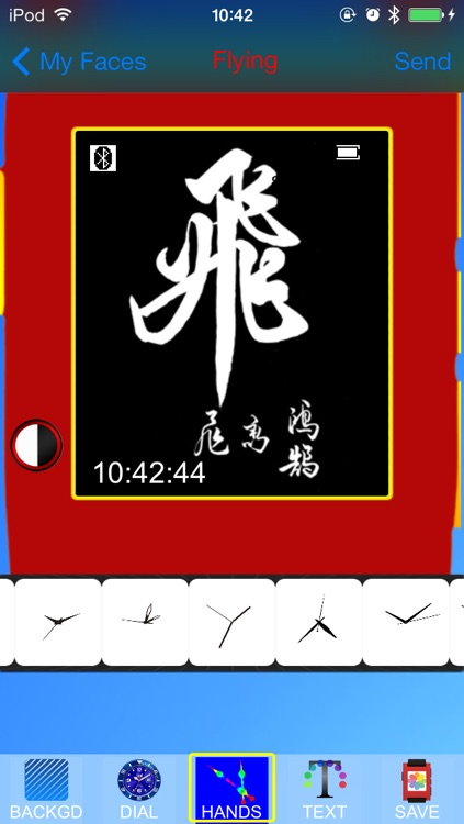 Pebble Faces Creator - Build and Create Unlimited Faces for Pebble SmartWatch screenshot-4