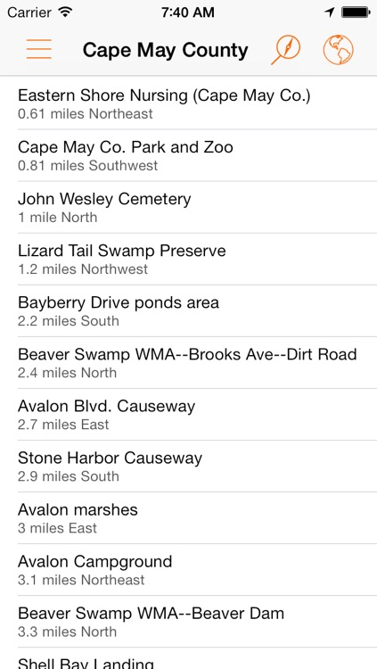 BirdsEye Hotspots - find birding locations worldwide screenshot-0