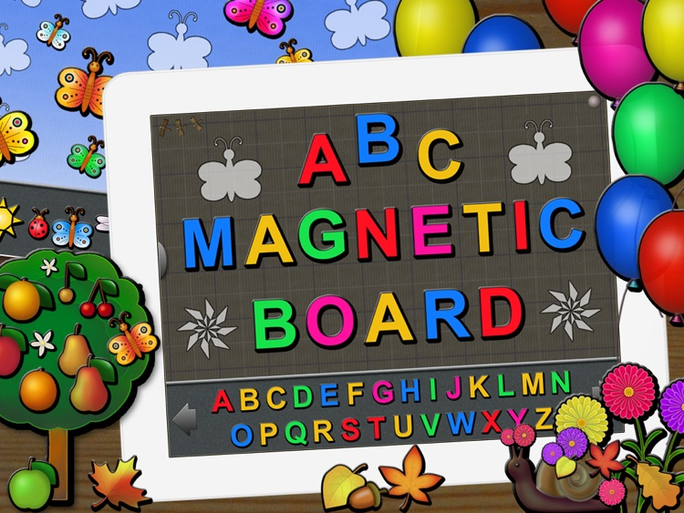 ABC Magnetic Board Plus - Alphabet, Numbers, Shapes, Toys and Animated Fun