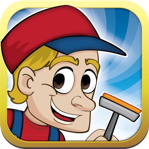 """Бесплатная игра Fun Cleaners - разработана компанией """"Лучшие Бесплатные Игры для Детей, Интерессные Игры - Бесплатные Приложения Игры"""