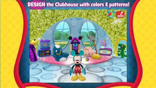 Mickey Mouse Clubhouse - Color & Play Screenshot