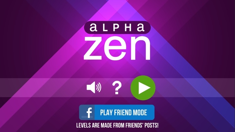 Alpha Zen screenshot-0