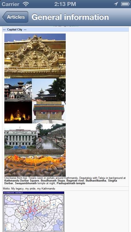Kathmandu, Nepal Offline Map - PLACE STARS screenshot-4