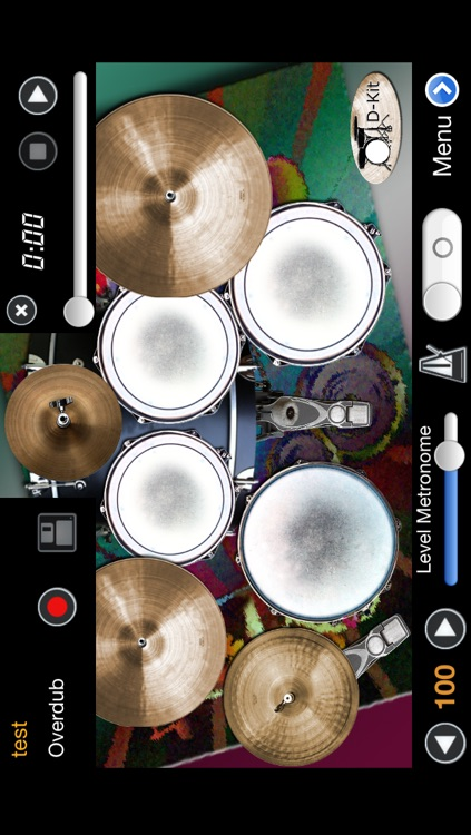 DrumsLive – MIDI and touch drums - Hang Drum screenshot-3