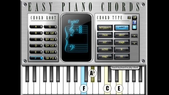 Easy Piano Chords On The App Store