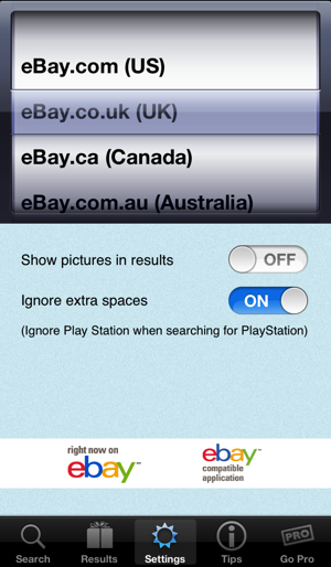 Fat Fingers For Ebay Bargains On The App Store