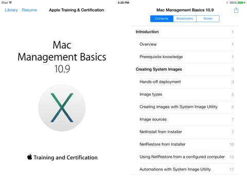 Mac Management Basics 10.9 by Apple Training and Certification on iBooks