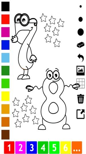 Aktiv-Malbuch für Klein-Kinder: Zahlen 1-10 schreiben, zeichnen, aus ...
