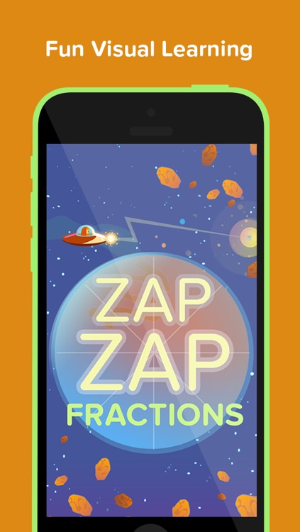 Zap Zap Fractions : Virtual Fraction Tutor