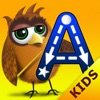 Kids Academy • ABC Alphabet Phonics tracing best app . Baby, Pre-K, Toddlers, Preschool and Kindergarten children learn English language through Montessori play activities: crosswords, sounds, vocabulary, song, letter spelling blocks, flash cards games.