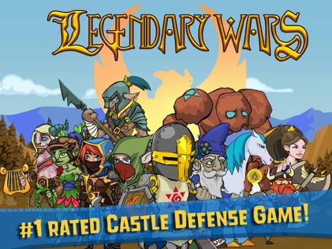Legendary Wars на iPad