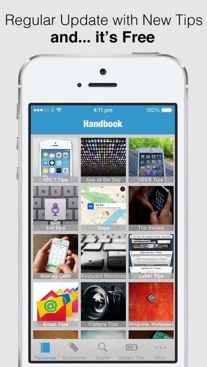 Secret Handbook for iOS 7 Lite - Tips & Tricks Guide for iPhone screenshot-4