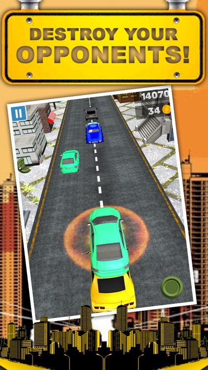 A 3D Downtown City Racing Game FREE screenshot-2