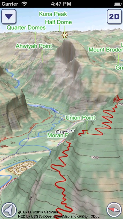 US National Parks 3D Maps