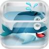 ゆるい - フィンクジラゲーム A Flappy-Fins Whale Game - iPhoneアプリ