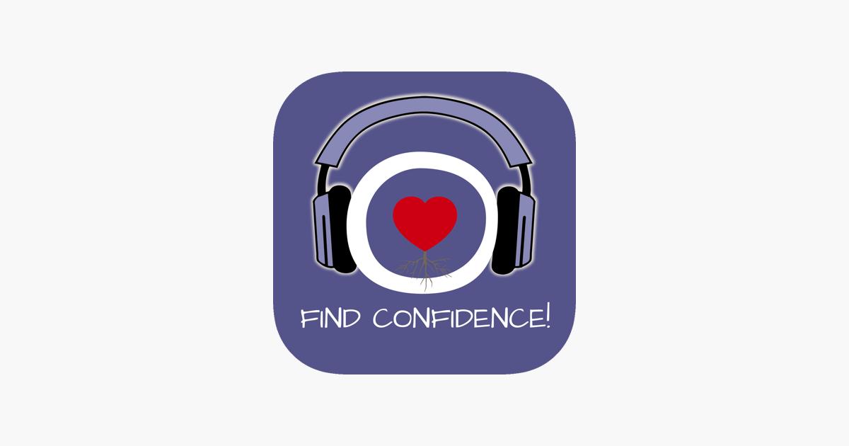 find confidence urvertrauen aufbauen mit hypnose im app store. Black Bedroom Furniture Sets. Home Design Ideas