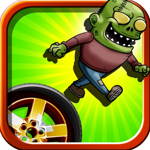 A Zombie Jumping Wheels Of Death Free Game icon