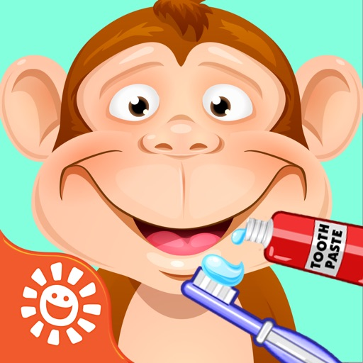 Buddy the Monkey & Friends Animal Dentist Game - Play Free Pet & Zoo Animals Family Games