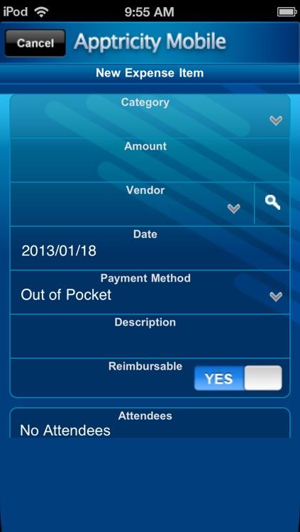 Apptricity Expense 6.0 screenshot-3