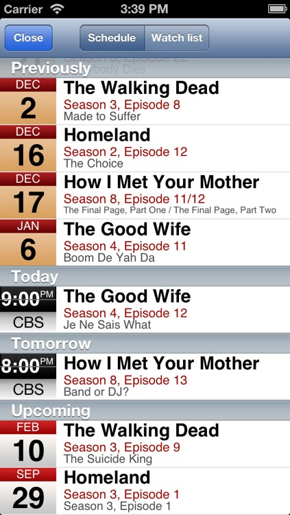 tv show tracker 2 screenshot-3