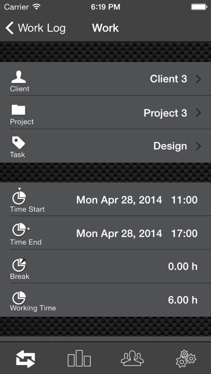 Work Log Ultimate Pro - Plan, Log, Analyze - time tracking made easy screenshot-3