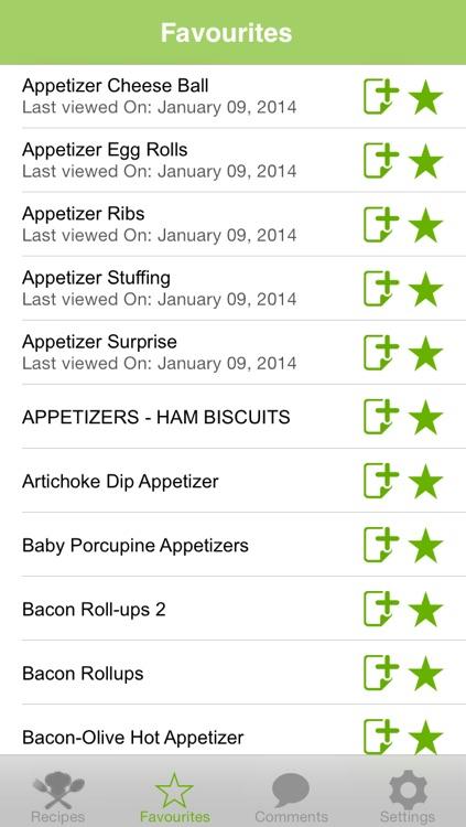 Appetizers Recipes screenshot-3
