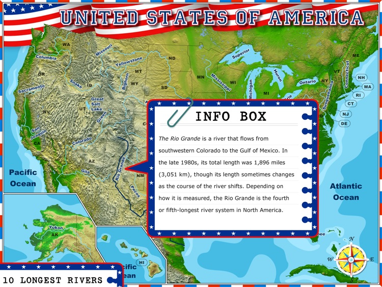 USA - Illustrated Geography Atlas screenshot-2