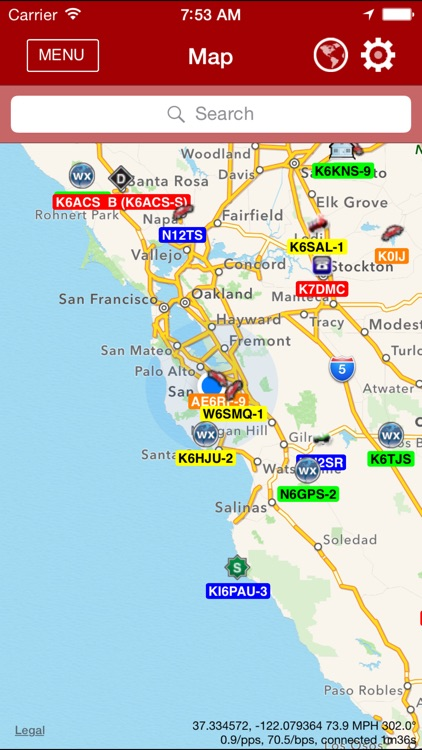 APRS Mobile screenshot-0