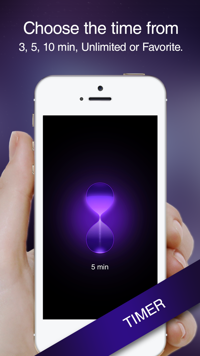 iMeditate - The World's Simplest Meditation App screenshot two