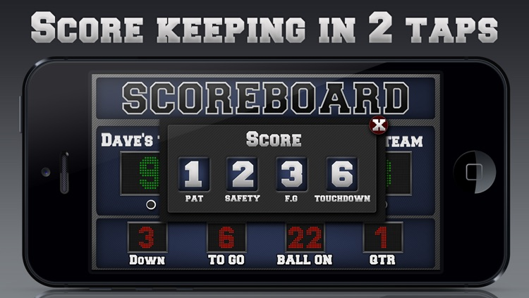 Football Scoreboard screenshot-2
