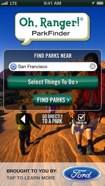 Oh, Ranger! ParkFinder™ screenshot-0