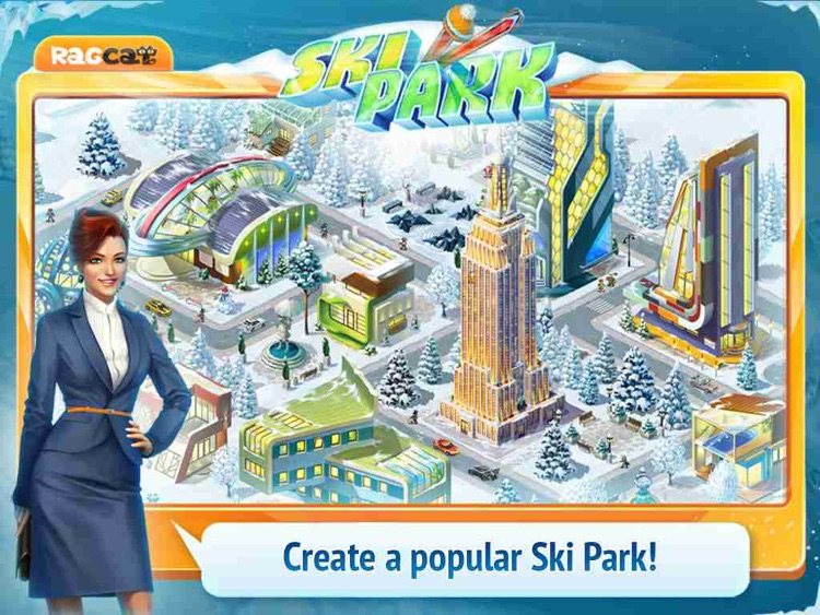 Ski Park HD: Build Resort and Find Objects!