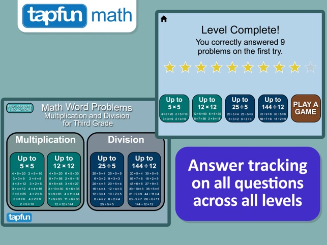 Math Word Problems - Multiplication and Division for Year 2 and 3 ...